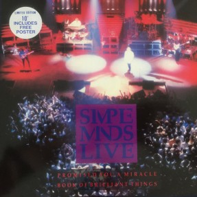 Promised You A Miracle / Book Of Brilliant Things (Simple Minds Live)