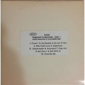 Familiar To Millions - Disc 1